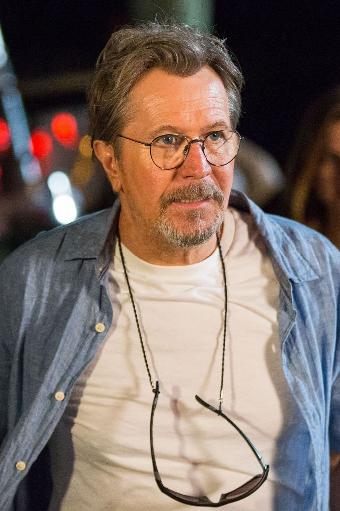 "Gary Oldman is pictured in a film still from ""Mary""."