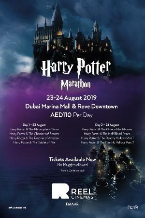 "This ""Harry Potter"" movie marathon will span two days in Dubai."