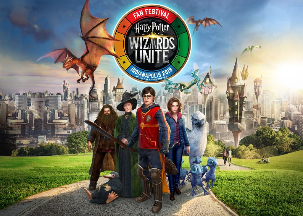 """The """"Harry Potter: Wizards Unite"""" Fan Festival kicks off August 31 in Indianapolis, Indiana."""