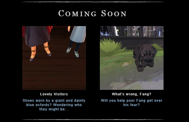 """New events in """"Hogwarts Mystery"""" will include a Fang-related side quest and visitors from Beauxbatons!"""