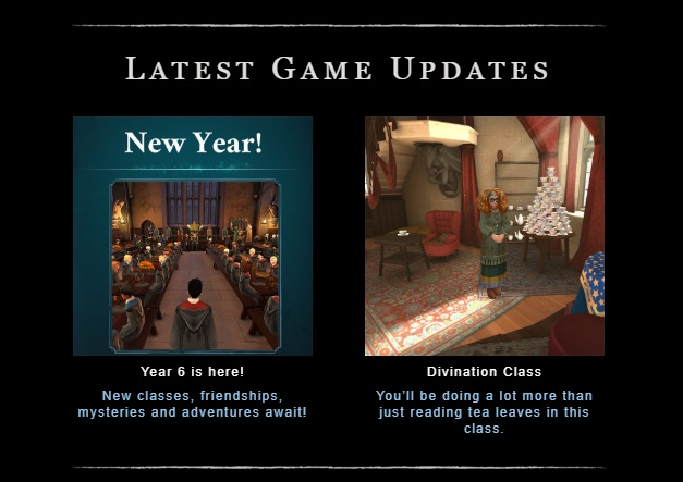 """The latest updates to """"Harry Potter: Hogwarts Mystery"""" include the start of sixth year and the introduction of Divination classes."""