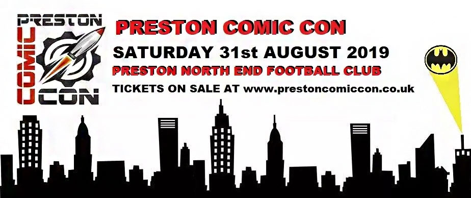 Chris Rankin will be among the special guests at this year's Preston Comic Con.