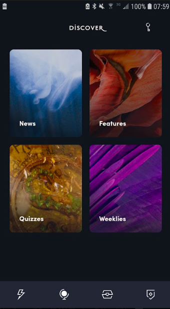 """The """"Discover"""" section"""