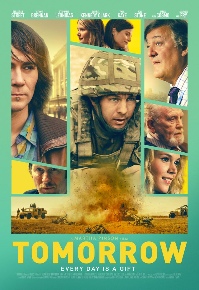 "Stephen Fry is featured in the new movie poster for ""Tomorrow""."