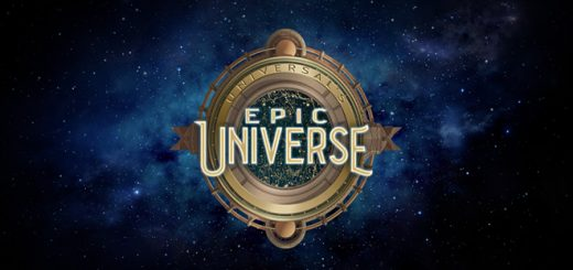 A map shows where Universal Orlando Resort's new Epic Universe park will be located in respect to the main theme park campus.