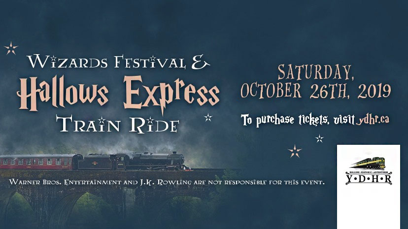 Fans can expect a magical day at the Wizard's Festival and Hallows Express Train Ride in Toronto, Canada. The event features a train ride to the festival grounds for VIP guests and more!