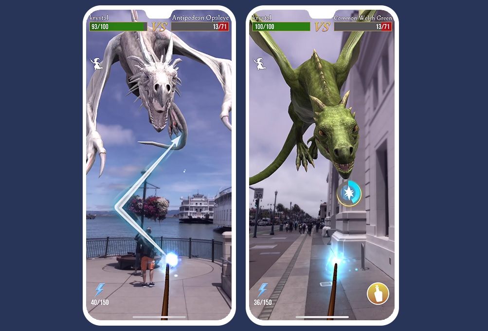 """During a panel at San Diego Comic-Con, Niantic and WB Games San Francisco announced that dragons will make their debut at the upcoming """"Harry Potter: Wizards Unite"""" Fan Festival in Indianapolis, Indiana."""