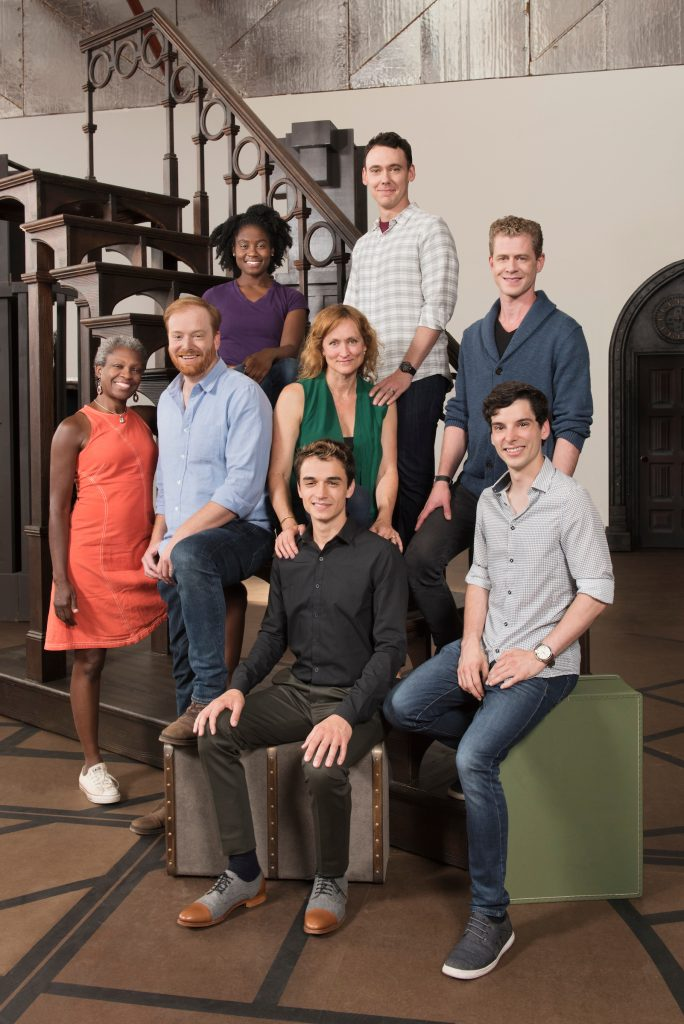 "The cast of ""Cursed Child"" in San Francisco"