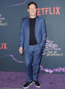 "Jason Isaacs at ""The Dark Crystal: Age of Resistance"" premiere"