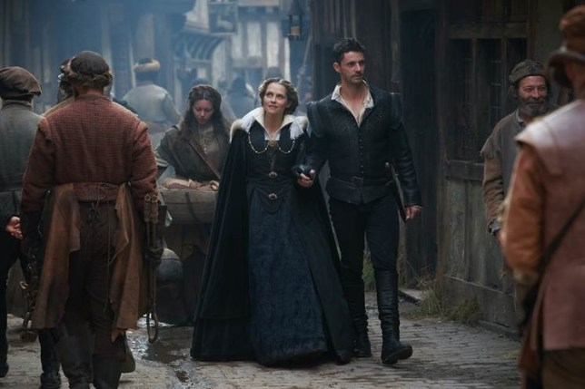 "A first look image was released last week of Season 2 of ""A Discovery of Witches""."
