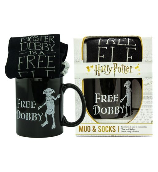 Nothing would make Dobby happier than a gift containing socks.