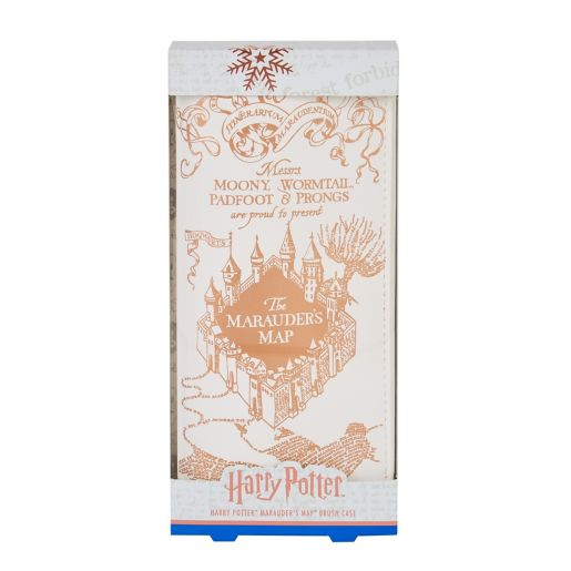 Keep last year's wand cosmetic brushes safe with this Marauder's Map brush case, priced at £8.50.