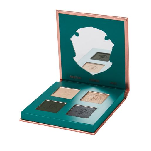 A number of eye shadow palettes are available this year, including Slytherin, Gryffindor, and Deathly Hallows.