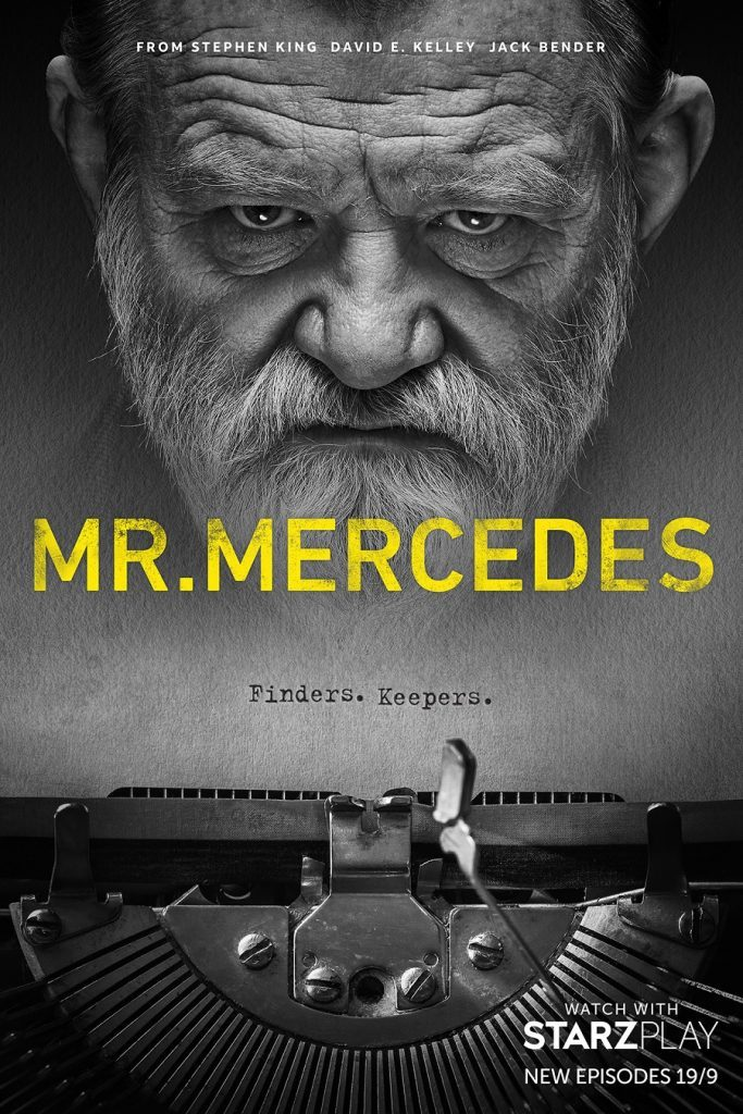 "Brendan Gleeson is featured in a poster for Season 3 of ""Mr. Mercedes""."
