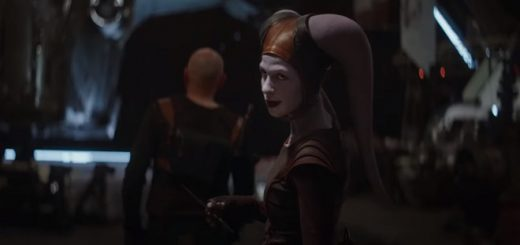 "Nat Tena is pictured as her Twi'lek character in ""The Mandalorian""."