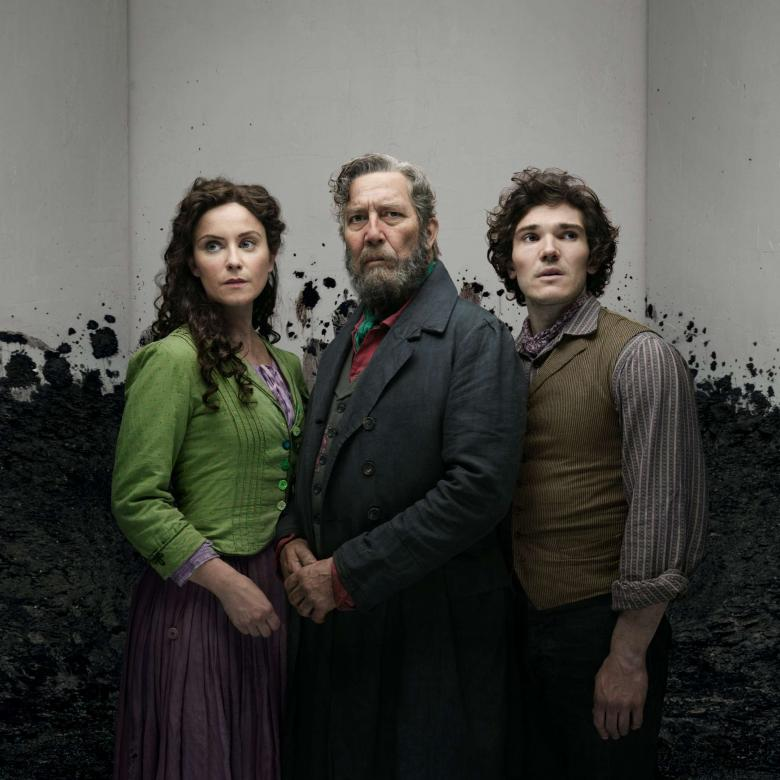 """Ciaran Hinds is pictured in a promotional photo for his new play, """"Translation""""."""