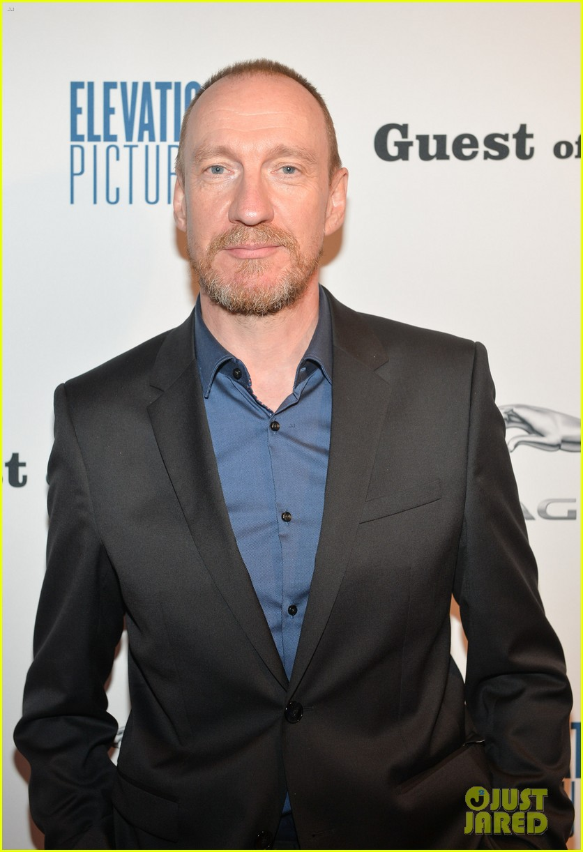 David Thewlis poses for a photo at the Toronto International Film Festival.