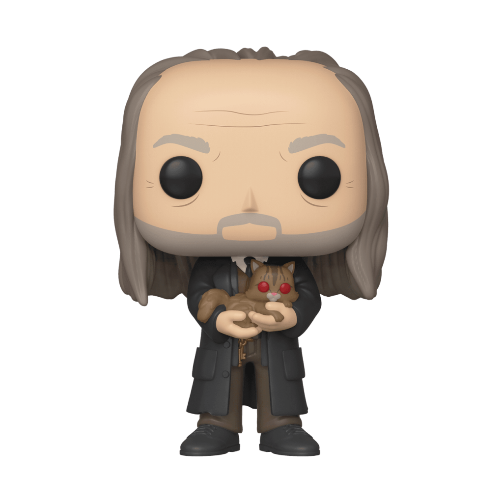 NY Comic Con Exclusive POP! Funko Argus Filch (with Mrs. Norris)