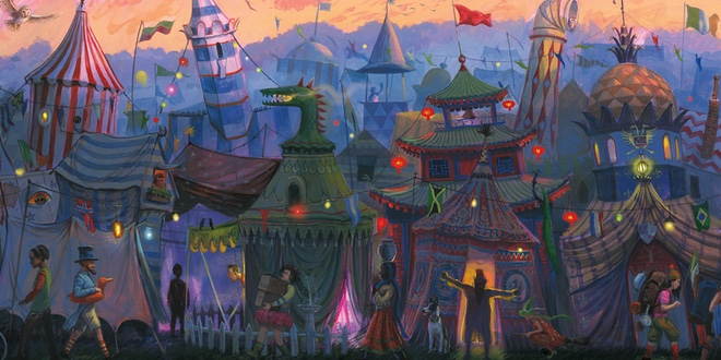 The Arrival Of The Triwizard Competitors Comes To Life In The Illustrated Goblet Of Fire Mugglenet .tournament, arrived at hogwarts, which were beauxbatons academy and durmstrang institute. illustrated goblet of fire