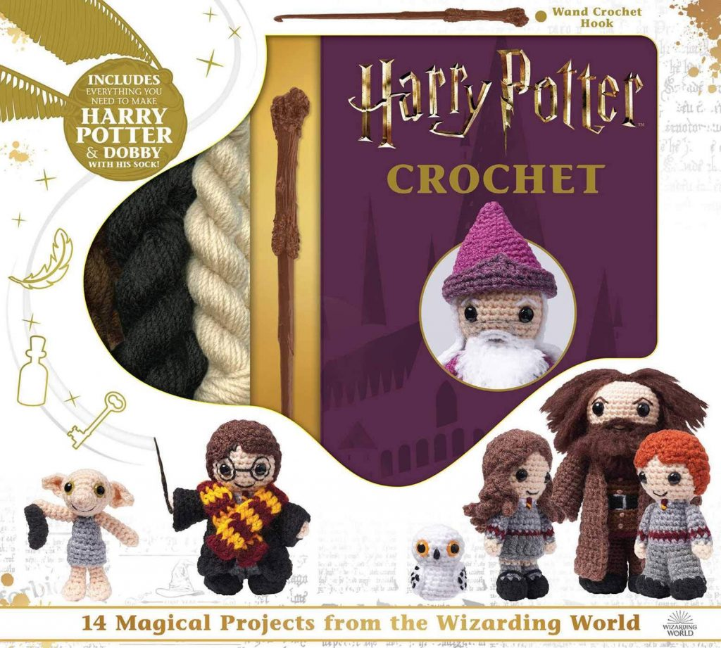 "This ""Harry Potter Crochet"" book gives you enough materials to create Harry Potter and Dobby, with instructions for ten more characters!"