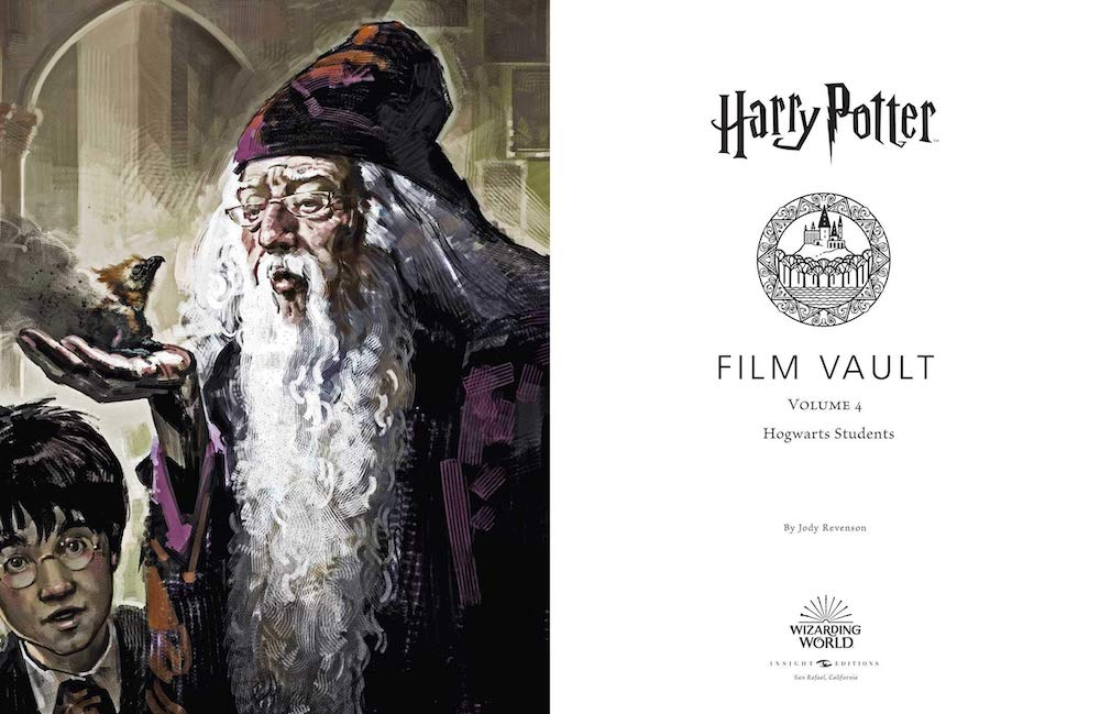 Focusing on the students in the film series, this volume includes concept art and a lot of behind-the-scenes photographs.
