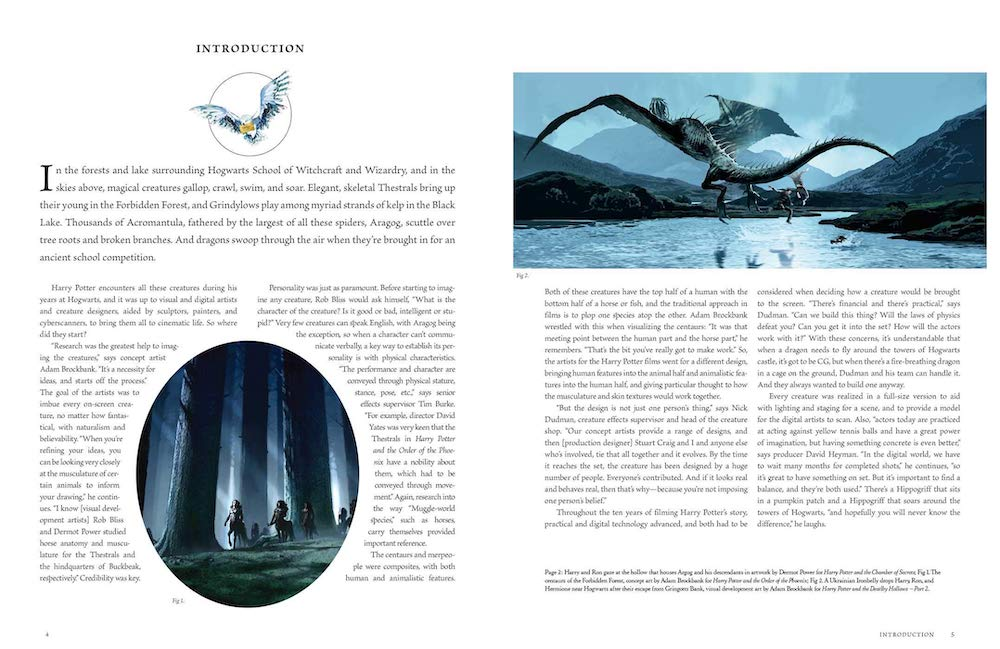 The first volume introduces readers to the magic behind the creation of creatures such as dragons and centaurs.