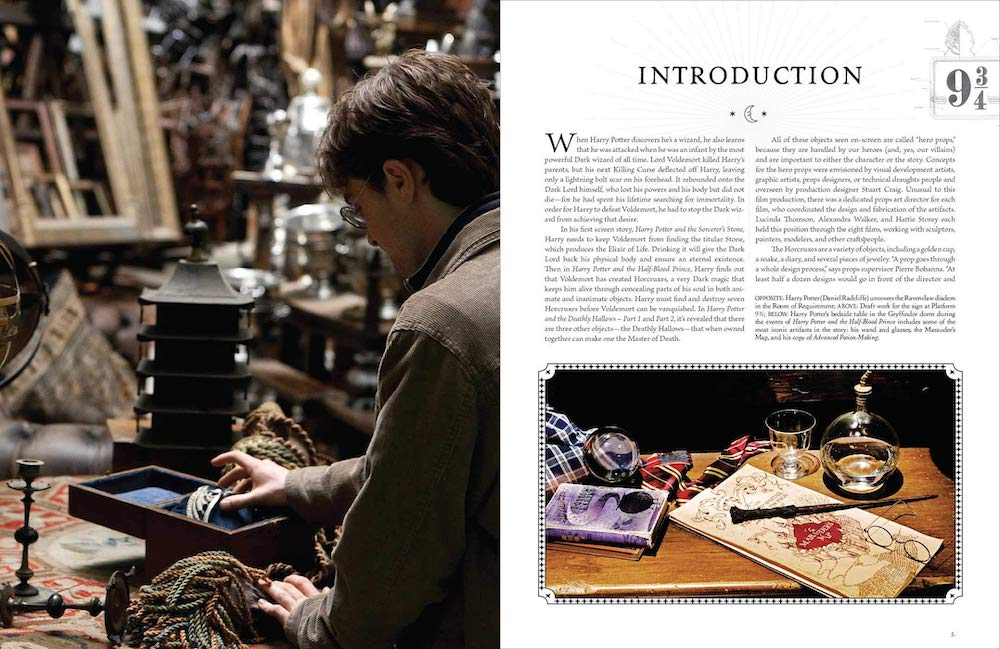 From the Sorcerer's Stone to Horcruxes, this volume details the development of the props that were often involved in the darker moments of the movies.