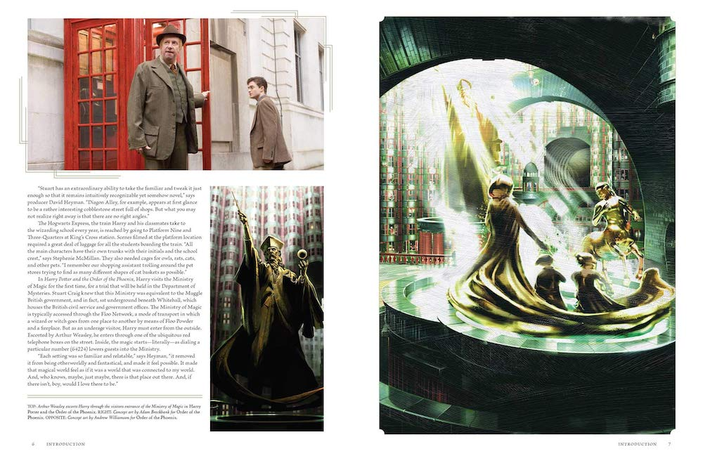 Harry's first trip to the Ministry of Magic is explored in the second volume.