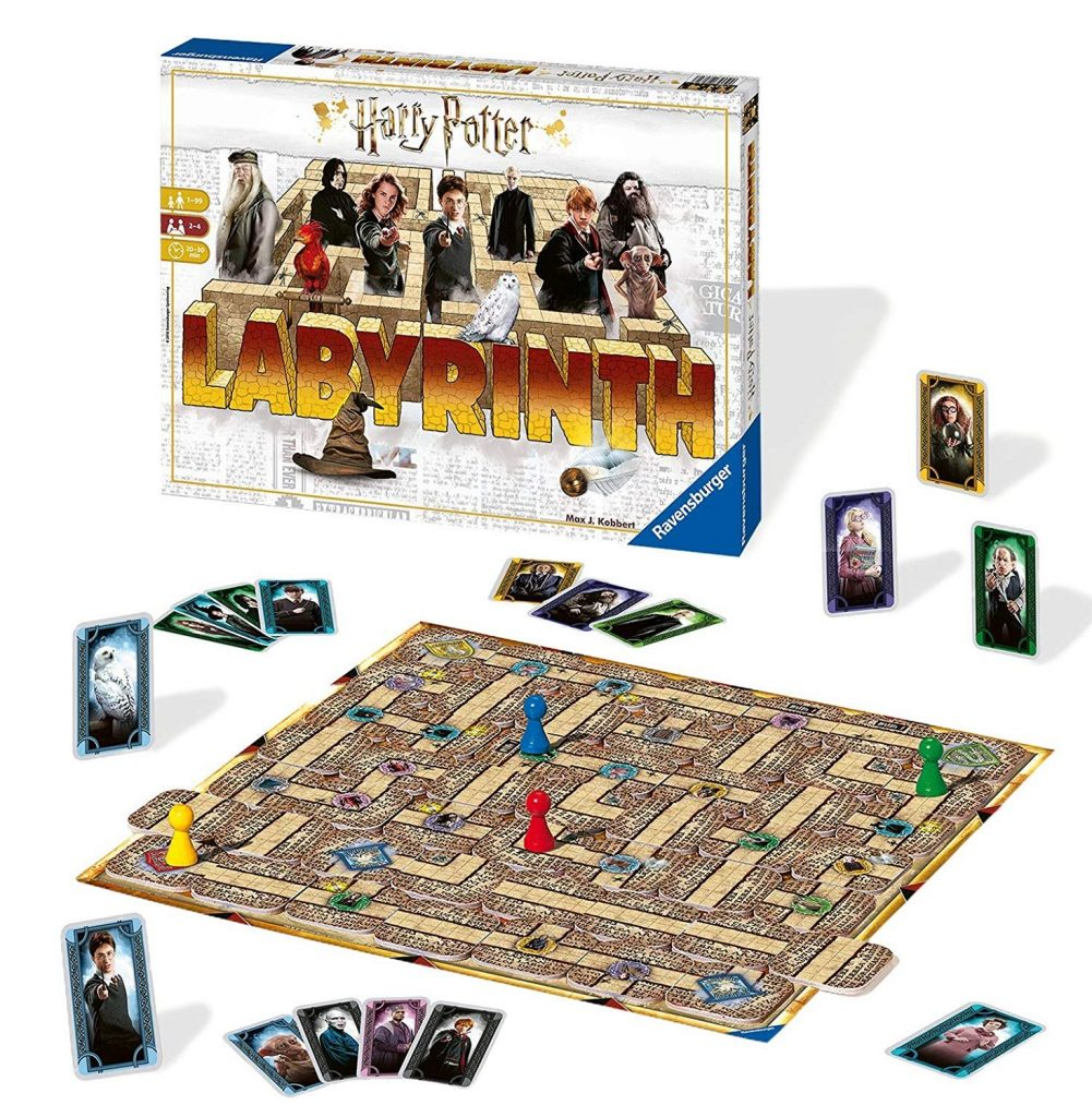 "The Harry Potter Labyrinth board game will be great for a ""Potter""-themed game night!"
