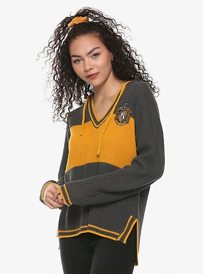 These hooded House-crest sweaters from Hot Topic will keep any Hufflepuff warm and toasty.