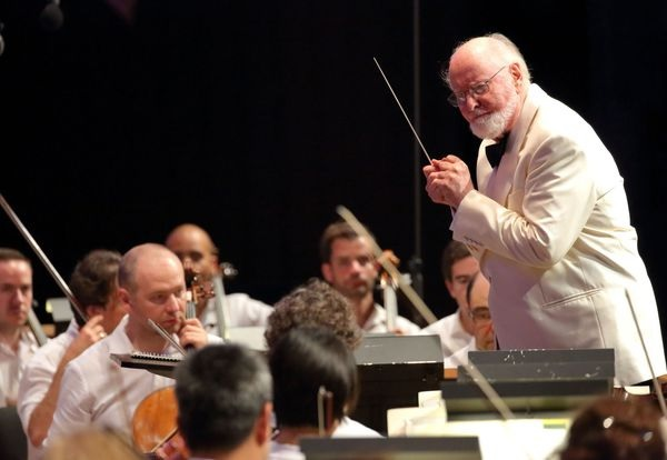 John Williams conducts the Boston Pops at Tanglewood.