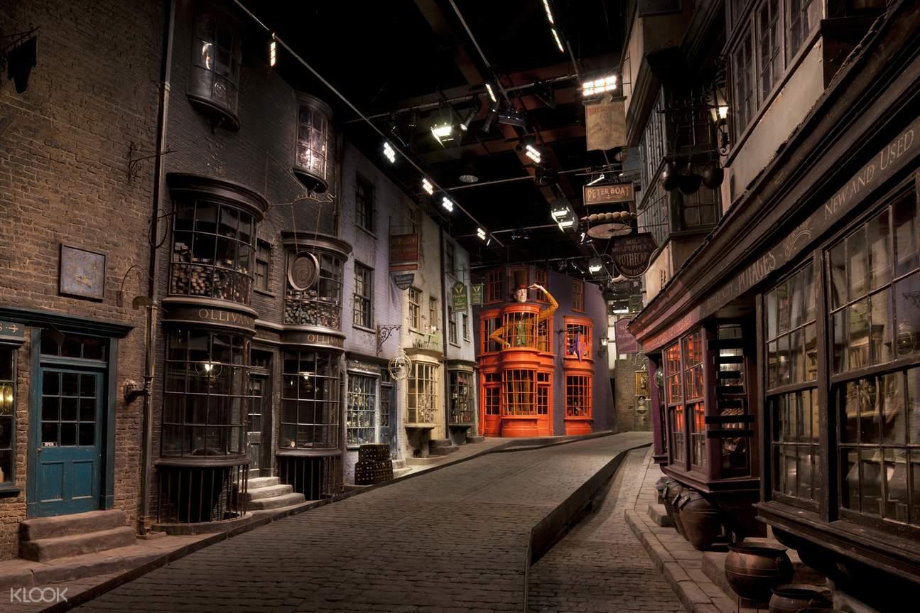 Klook Experience – Warner Bros. Studio Tour, Diagon Alley