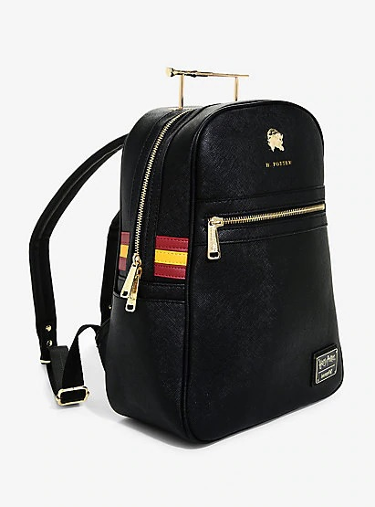 "The 'Harry Potter"" wand handle backpack from Loungefly is any Potterhead's dream tote."