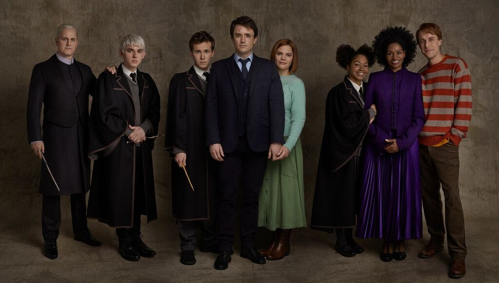 "The current cast of ""Cursed Child"" on Broadway"