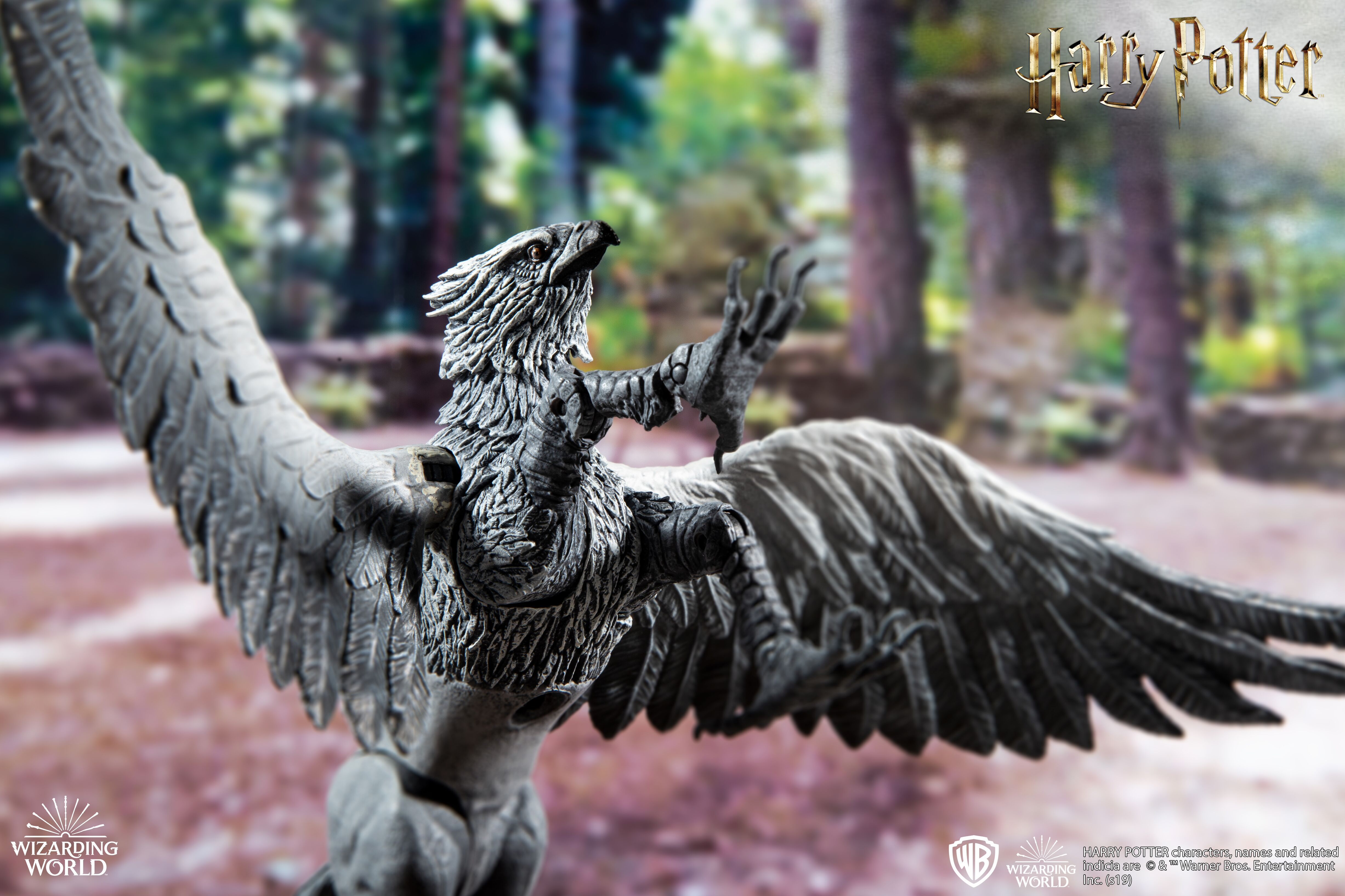 This beautiful and lifelike figure of Buckbeak is new in McFarlane Toys' creature line.