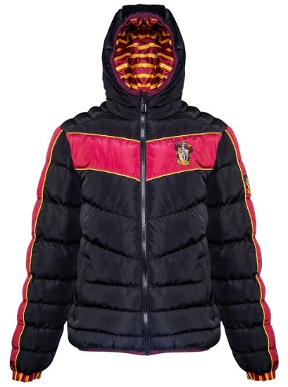 You'll be warm and repping your House pride in this Gryffindor padded jacket from Merchoid.