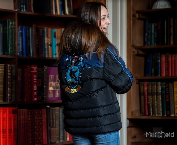 Ravenclaws will love these padded jackets for trips to the library on winter days.