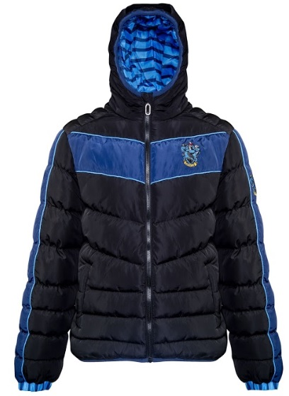 You'll be warm and repping your House pride in this Ravenclaw padded jacket from Merchoid.