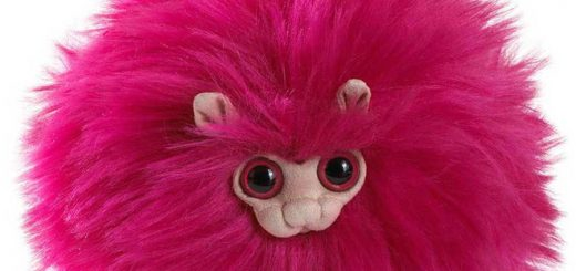 Pygmy Puff plush from the Noble Collection's new line of Harry Potter plushes
