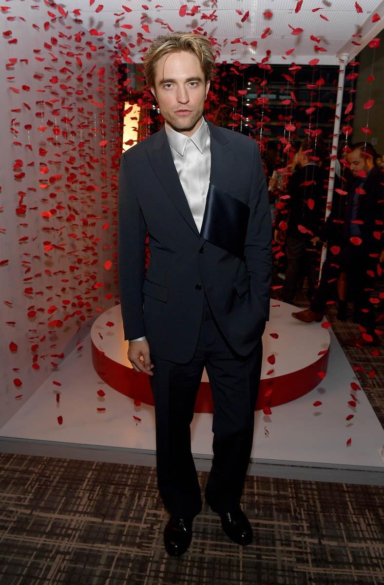 Robert Pattinson looks brooding as ever at the Toronto International Film Festival.
