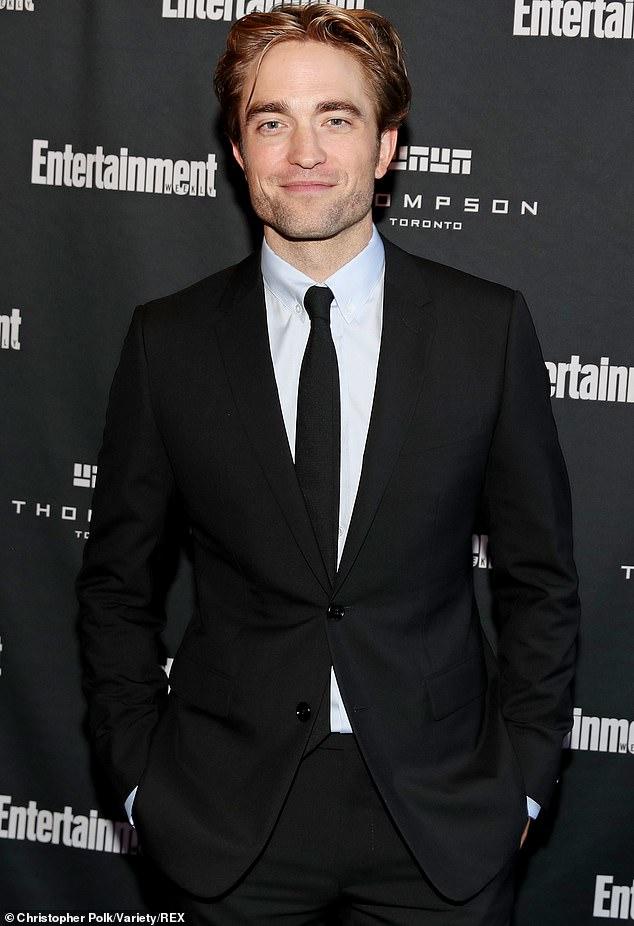 Robert Pattinson was looking dapper at the Toronto International Film Festival.