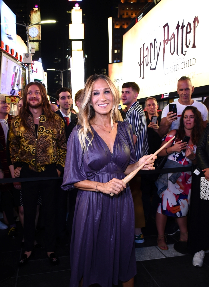"""Sarah Jessica Parker at """"Harry Potter and the Cursed Child"""""""