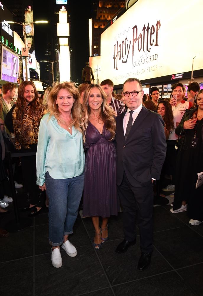 Sonia Friedman, Sarah Jessica Parker, and Colin Callender