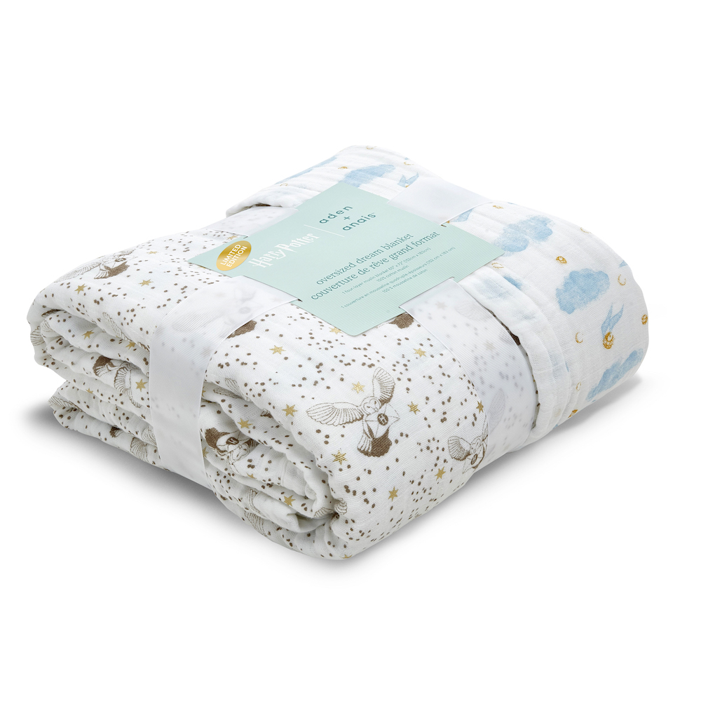 aden + anais promises that the Oversized Dream Blanket will be a favorite for the whole family.