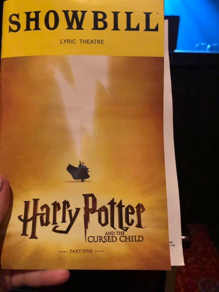 """The new logo on the """"Cursed Child"""" Broadway showbill"""