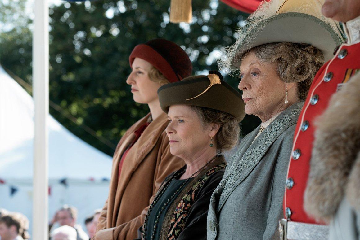 Downton Abbey movie still.