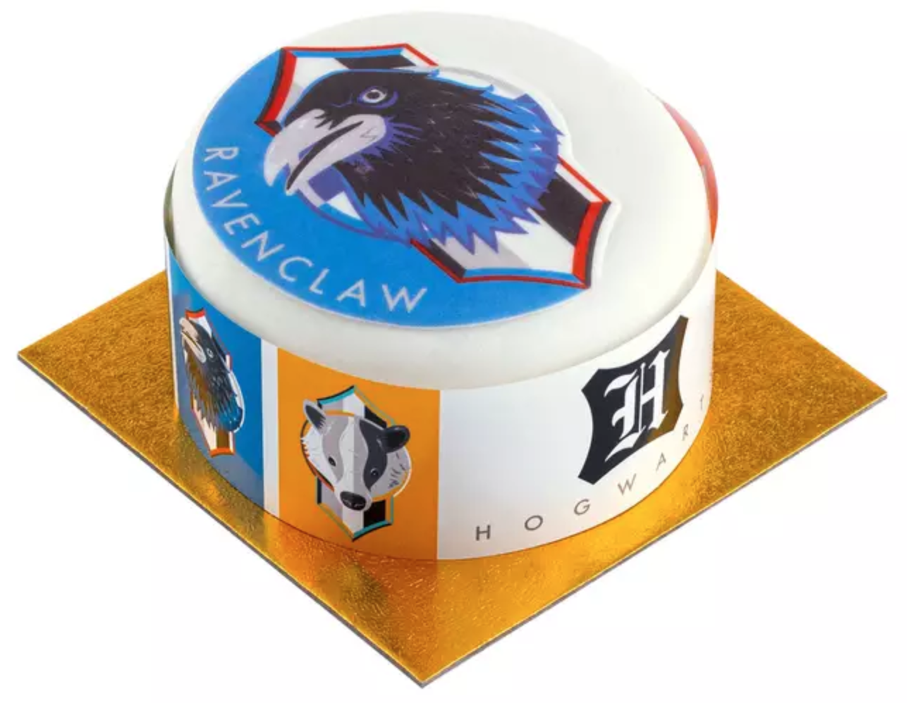 Ravenclaw-themed cake.