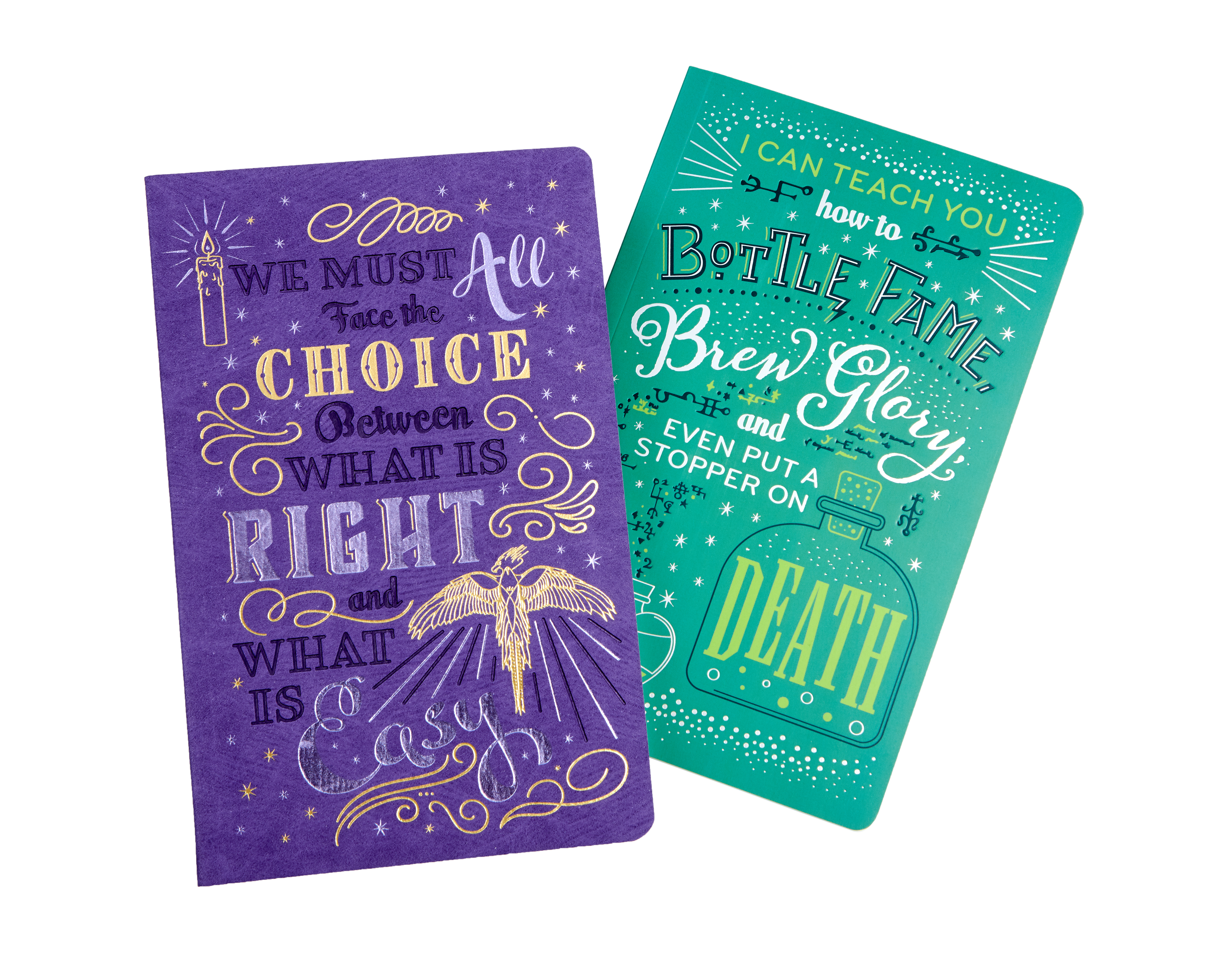 The wise words from these two professors are perfect for inspiring you to write brilliant things in your new notebook.