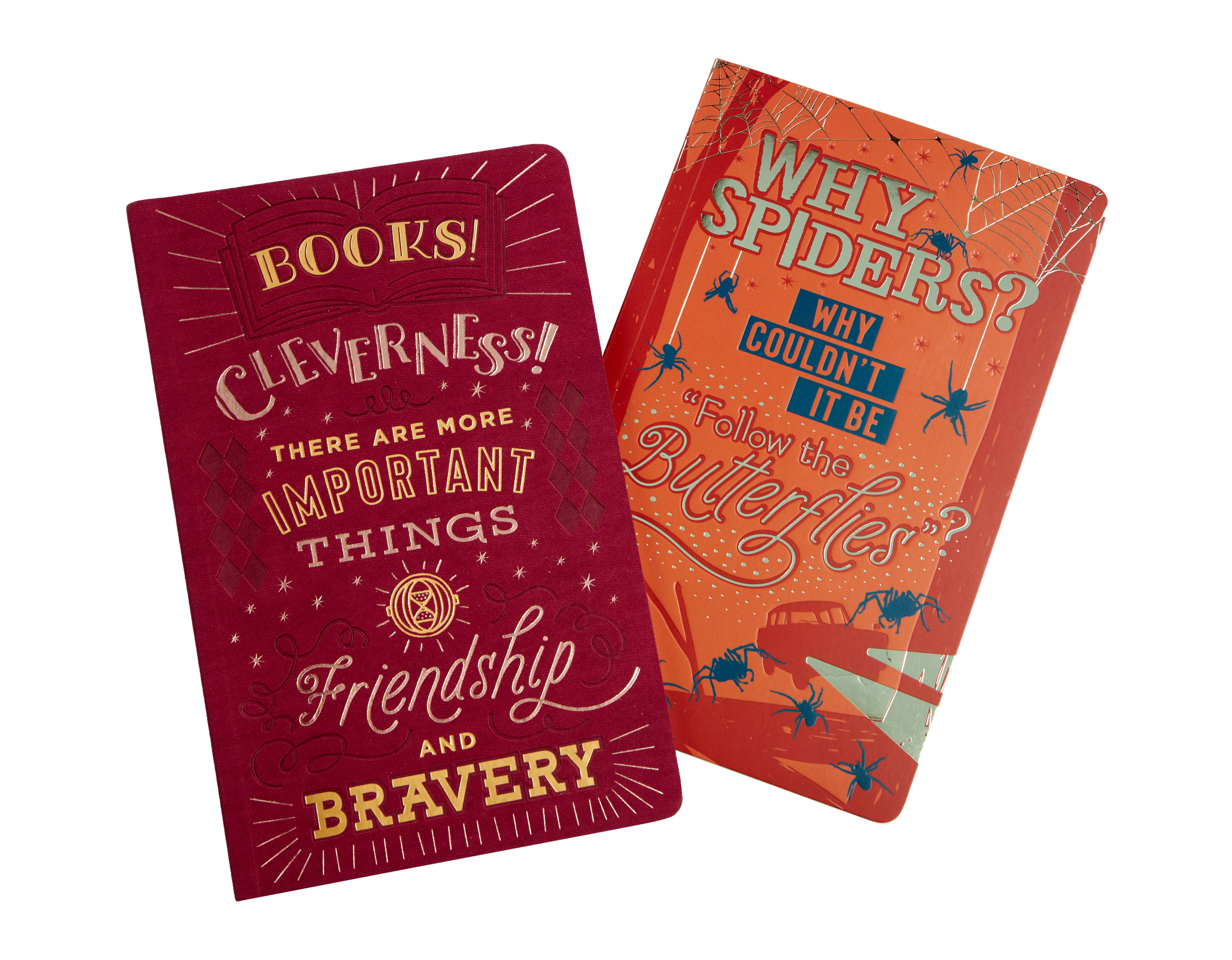 These notebooks have the sweetest quotes on them!