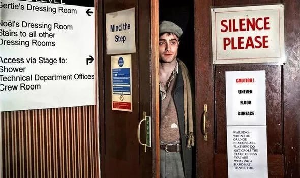 "Daniel Radcliffe is seen in an image from Simon Annand's ""The Half"" photography exhibition."